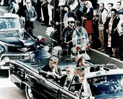 Photograph - Jfk  November 22 1963 Dallas Texas by David Lee Guss