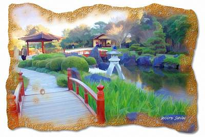 Photograph - Jg-0011 Cedar Bridge by Digital Oil