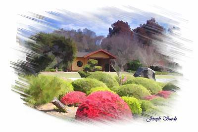 Photograph - Jg-0016 Tea House by Digital Oil