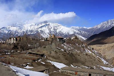 Tibetan Buddhism Photograph - Jharkot, Mustang, Nepal by Aidan Moran