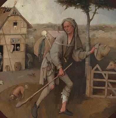 Paint Digital Art - Jheronimus Bosch 112 by Bosch Hieronymus