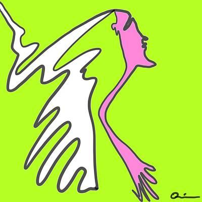 Jiggy Art Print