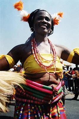Photograph - Jigida Waist Beads by Muyiwa OSIFUYE