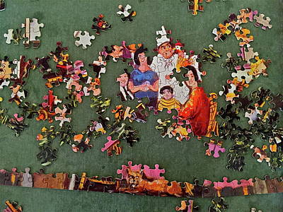 Photograph - Jigsaw Puzzle by Denise Mazzocco