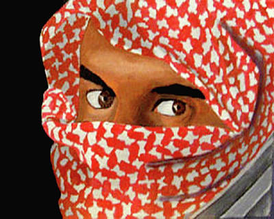 Jihadi Art Print by Darren Stein