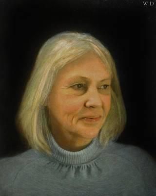 Painting - Jill by Wayne Daniels