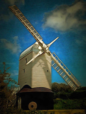 Photograph - Jill Windmill by Dorothy Berry-Lound