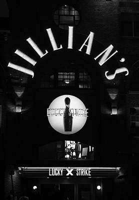 Bowling Alley Photograph - Jillian's by Lauri Novak