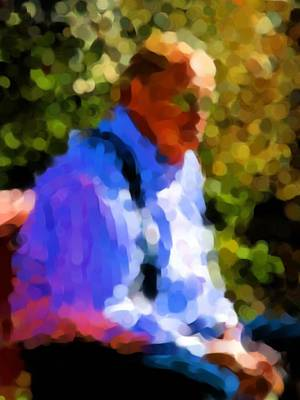 Photograph - Jim At The Park by Jeff Gater