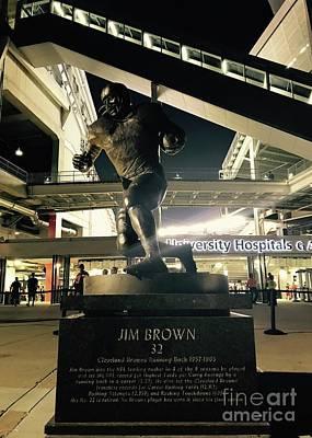 Photograph - Jim Brown by Michael Krek