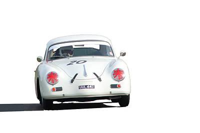 Digital Art - Jim Clarks Porsche 956a by Roger Lighterness