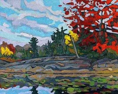 Severe Painting - Jim Day Autumn by Phil Chadwick