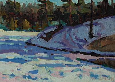 Environmentalist Painting - Jim Day Frozen by Phil Chadwick