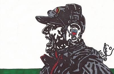 Jim Harbaugh Art Print by Jeremiah Colley