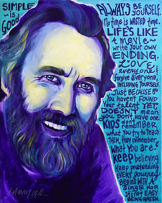 Jim Henson Art Print by Alicia VanNoy Call