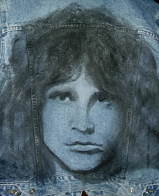 Gioffre Harrington Tapestry - Textile - Jim Morrison Jacket by Janet Gioffre Harrington