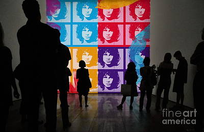 Photograph - Jim Morrison Warhol'esque  by Andrea Kollo