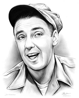 Jim Nabors Art Print