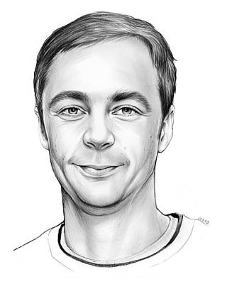 Jim Parsons Art Print by Greg Joens
