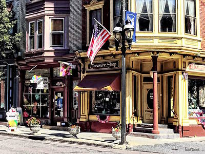 Photograph - Jim Thorpe Pa - Charming Downtown by Susan Savad