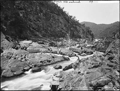 Painting - Jimenbuan Falls, Snowy River, Kerry And Co, Sydney, Australia, C. 1884-1917 by Artistic Panda