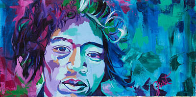 Painting - Jimi 2 by Janice Westfall