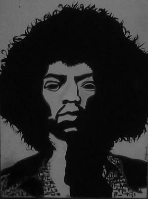 Jimi Hendricks Original by Samantha Hightower