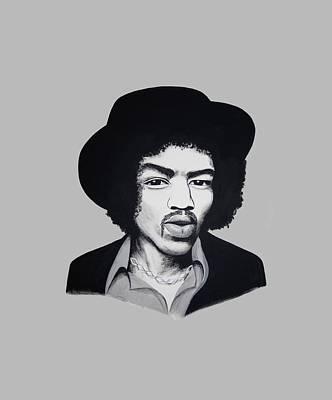 Johnny Allen Hendrix Painting - Jimi Hendrix  by Ivana Hlavca