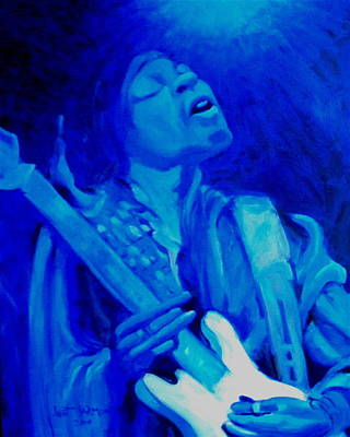 Painting - Jimi Hendrix by Jeanette Jarmon