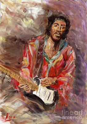 Jimi Hendrix Live Atlanta Original