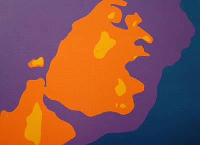 Painting - Jimi Hendrix by Michael Ringwalt