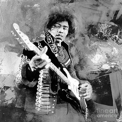 Jimi Hendrix The Legend 03 Original by Gull G
