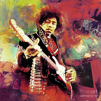 Jimi Hendrix The Legend  Original by Gull G