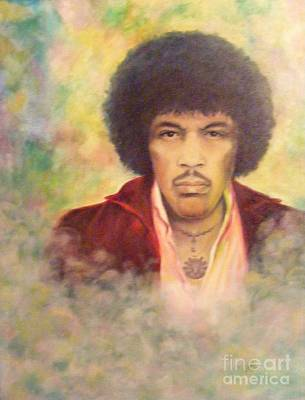 Painting - Jimi by Jean LeBaron