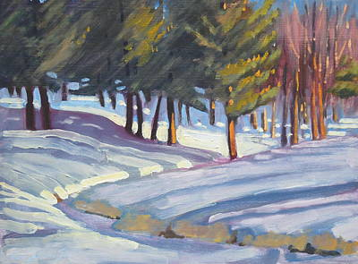 Painting - Jimmie's Brook 2 by Len Stomski