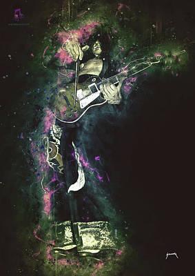 Digital Art - Jimmy by Abraham Szomor