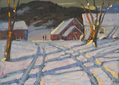 Painting - Jimmy Alibozek's Palce by Len Stomski