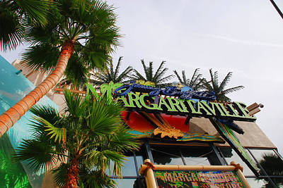 Jimmy Buffets Margaritaville In Las Vegas Art Print by Susanne Van Hulst