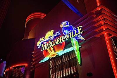 Photograph - Jimmy Buffet's Margaritaville Restaurant At City Walk by Lynn Bauer