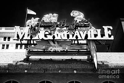 Photograph - Jimmy Buffett's Margaritaville by John Rizzuto