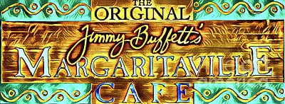 Photograph - Jimmy Buffetts Margaritaville Key West by John Stephens