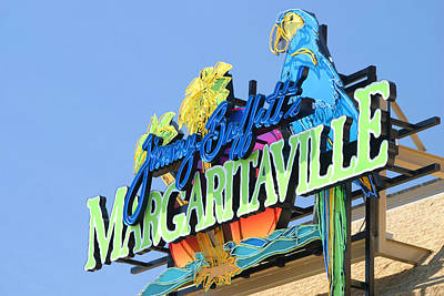 Photograph - Jimmy Buffett's Margaritaville by Living Color Photography Lorraine Lynch