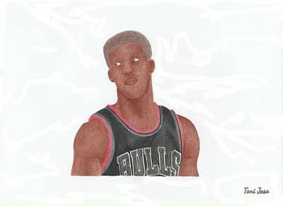 Jimmy Butler Art Print