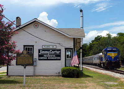 Photograph - Jimmy Carter's Campaign Headquarters by Carla Parris
