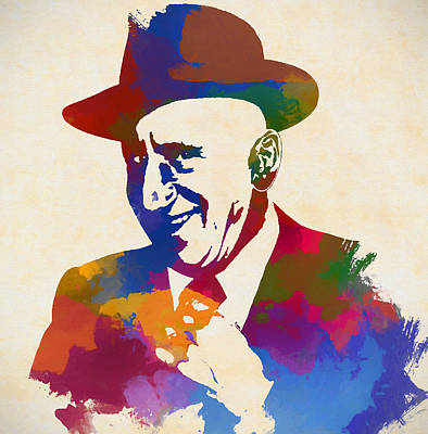 Painting - Jimmy Durante by Dan Sproul