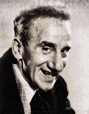 Musicians Royalty Free Images - Jimmy Durante, Hollywood Legend Royalty-Free Image by John Springfield
