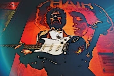 Digital Art - Jimmy Hendrix by EricaMaxine  Price