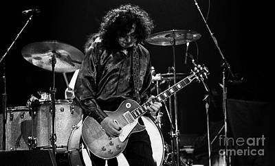 Concert Photograph - Jimmy Page-0047 by Timothy Bischoff