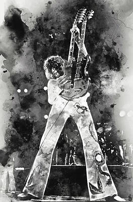 Katharine Hepburn - Jimmy Page - 05 by AM FineArtPrints