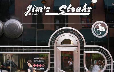 Jim's Steaks Philadelphia  Art Print